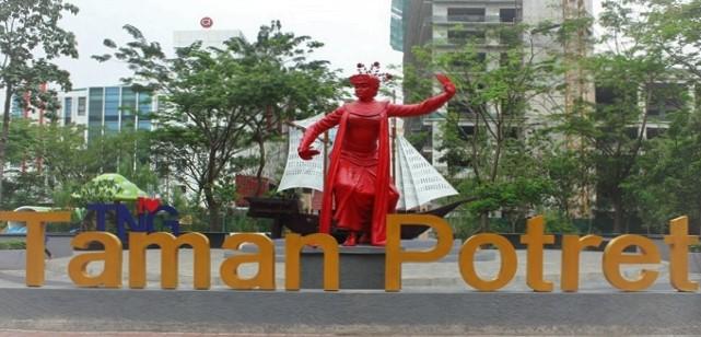 Pesona Taman Potret Kota Tangerang