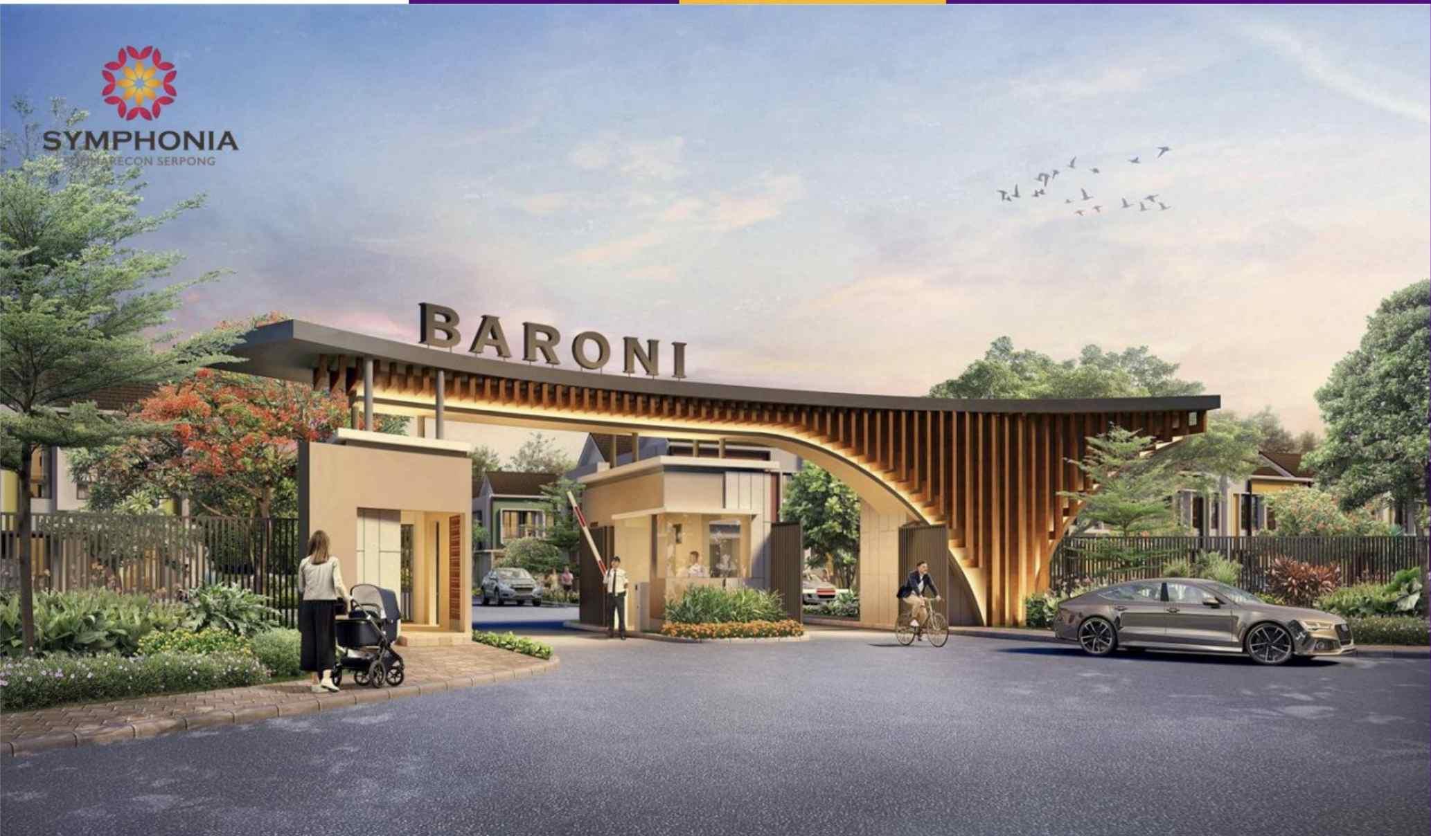 Rumah Baru Cluster Baroni Sumarecon Serpon