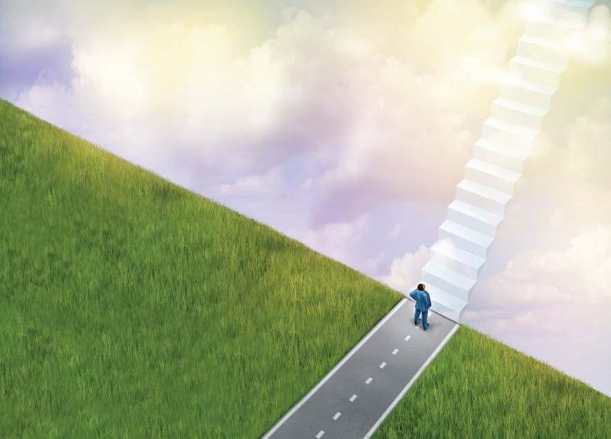 jalan tangga menuju sukses