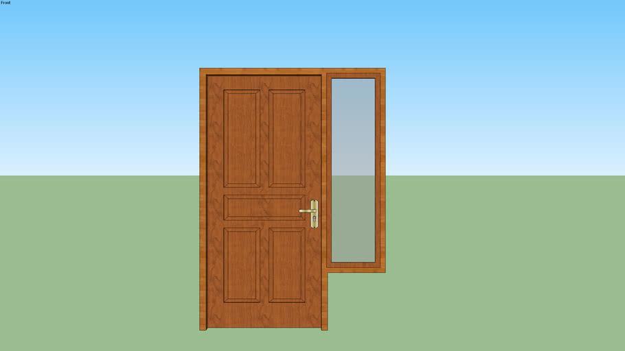 ilustrasi kusen pintu