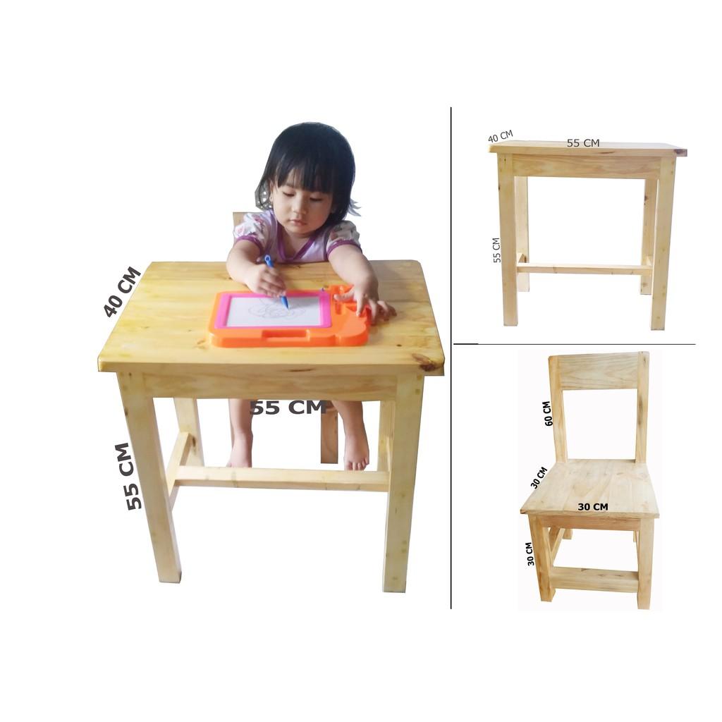 ukuran meja belajar anak