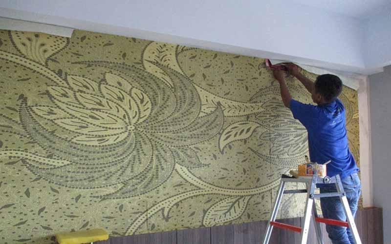 ganti wallpaper dinding