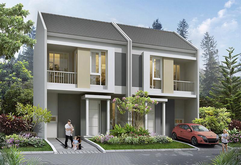 Synthesis Homes Rumah Pintar Dikawasan Tangerang Selatan