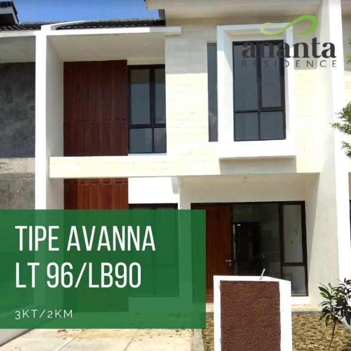 tipe avana ananta residence