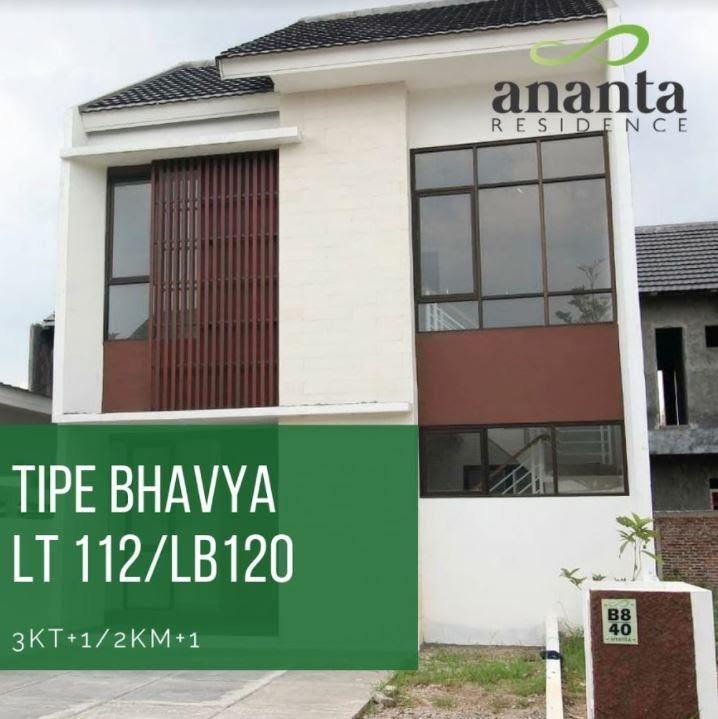 tipe bahavya ananta residence