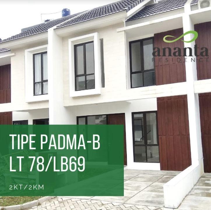 tipe padma b ananta residence