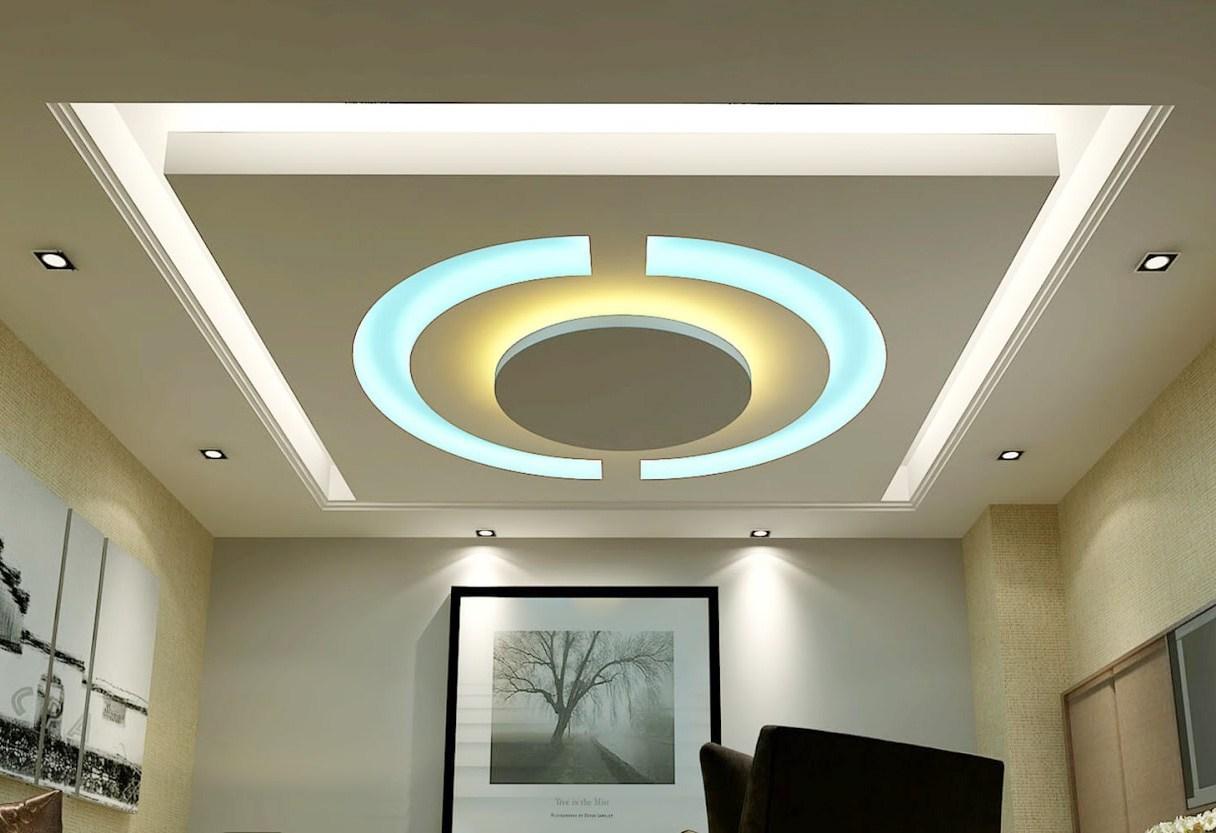 desain plafon futuristik
