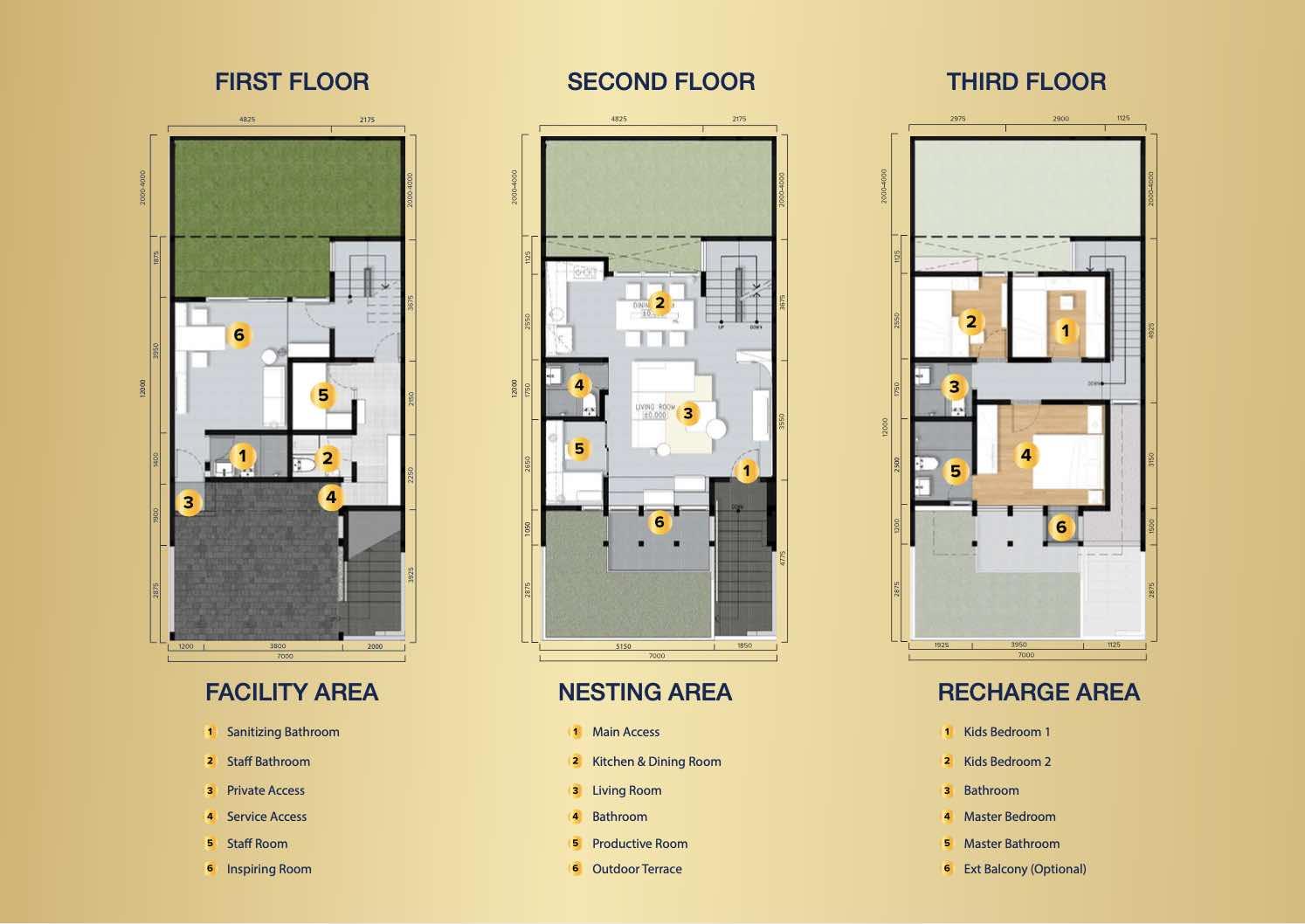 floor plan aether bsd