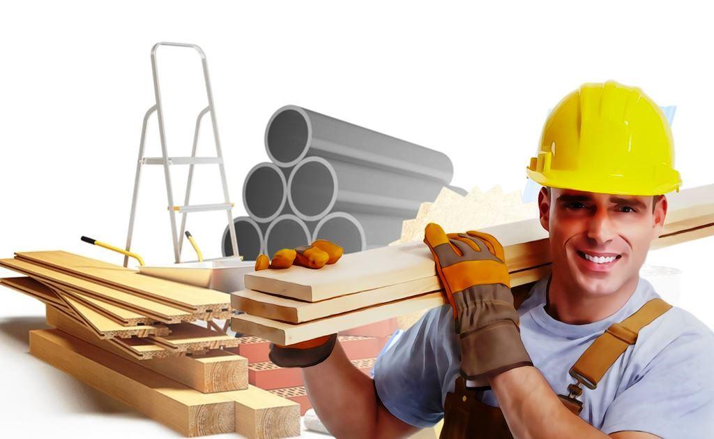 ilustrasi tukang bangunan
